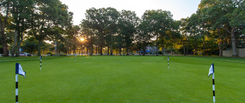 blue rock golf course practice green