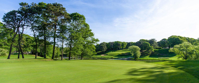blue rock golf course green